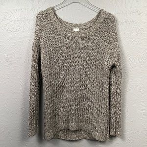 GARAGE Long Sleeve Open Knit Sweater Size XS-Small